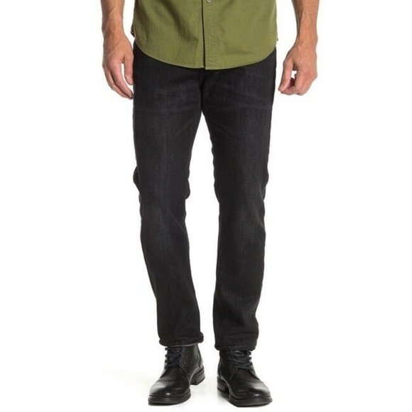 Lucky Brand Other - Lucky Brand Black Wash 410 Athletic Slim Fit Jeans